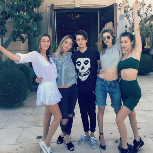 Gigi Hadid Birthday With Family Pictures April 2016
