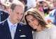 The Duke and Duchess of Cambridge looked on during an official welcome ceremony at the Somba K'e Civic Plaza on July 5, 2011, in Yellowknife, Canada.