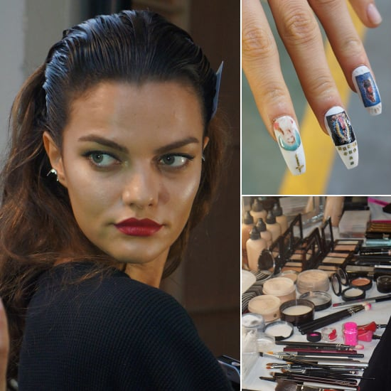 Backstage Beauty at House of Holland Spring 2014