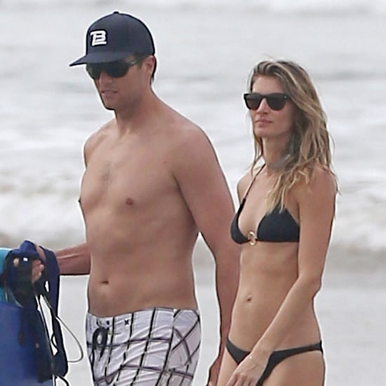 Tom Brady and Gisele Bundchen in Costa Rica Pictures