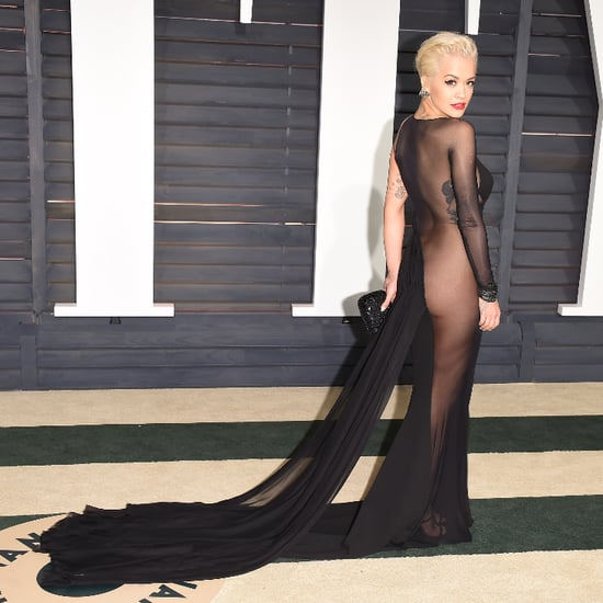 Rita Ora's Dress at Oscars Afterparty 2015