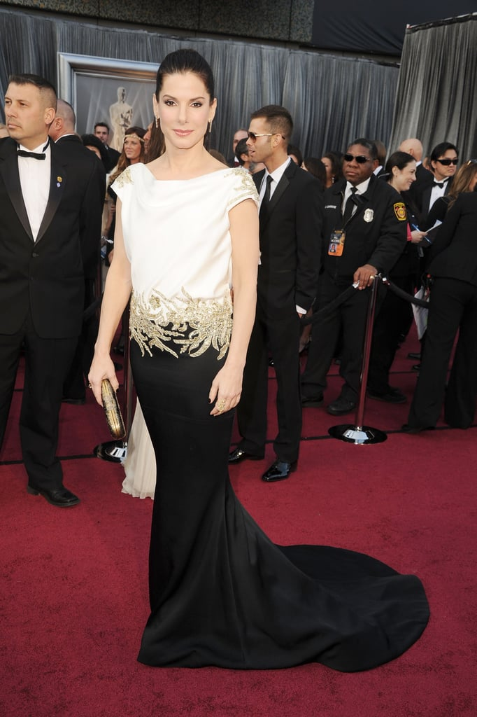 Sandra Bullock at the 2012 Academy Awards