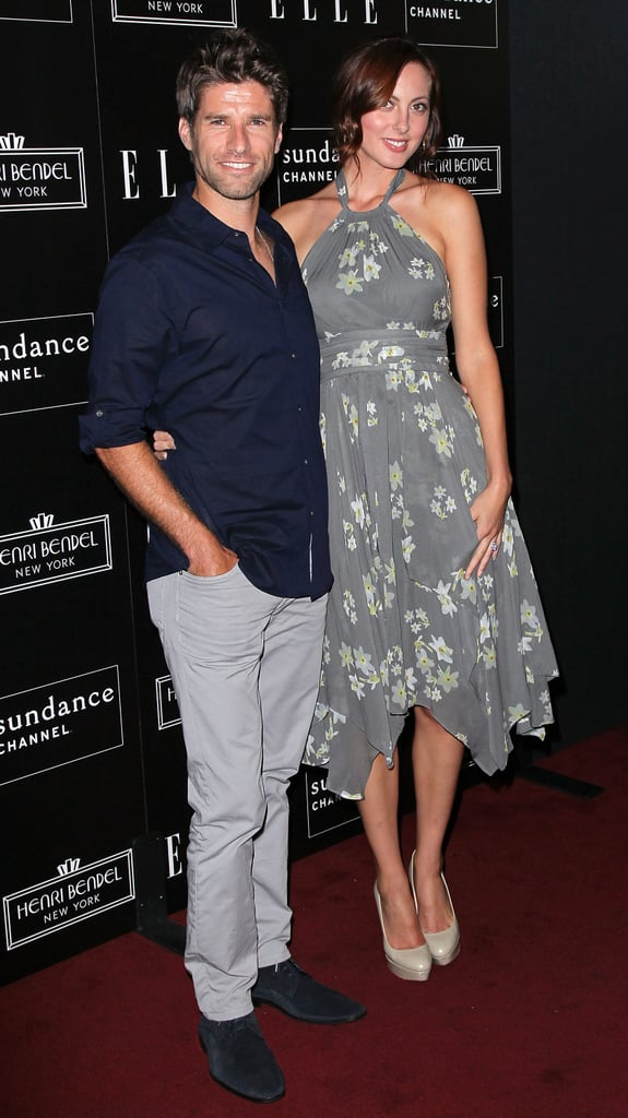 Eva Amurri Martino posed with husband Kyle Martino at the bash in honor of Joe Zee.