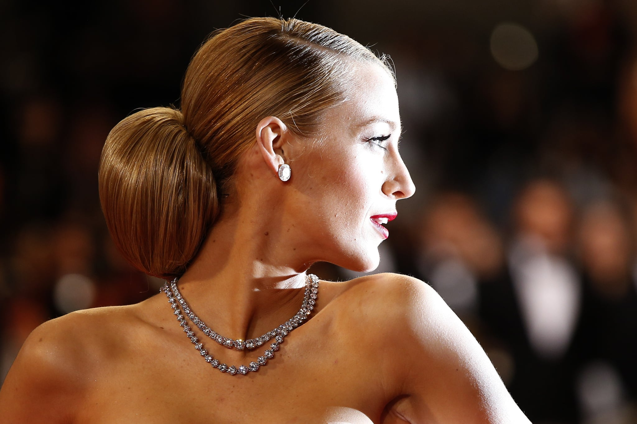 Blake Lively at the Captives Premiere