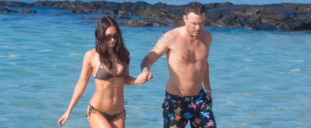 Megan Fox Shows Off Her Insane Bikini Body on the Beach With Brian Austin Green