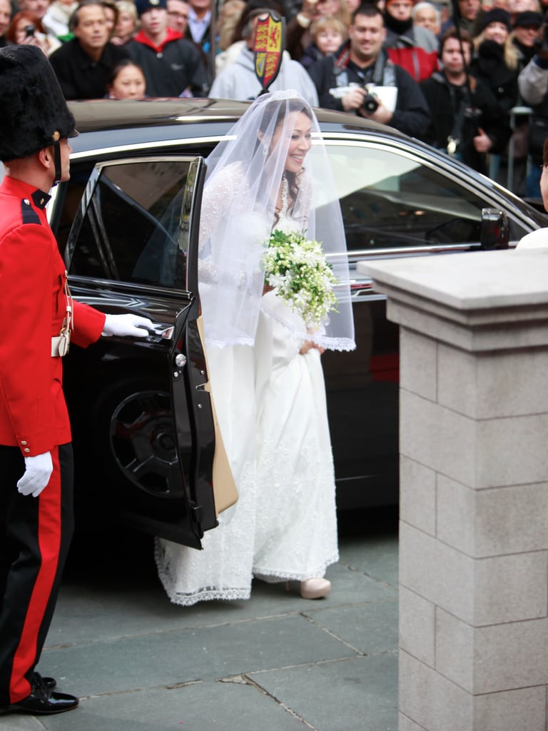 Ann Curry as Kate Middleton in 2011