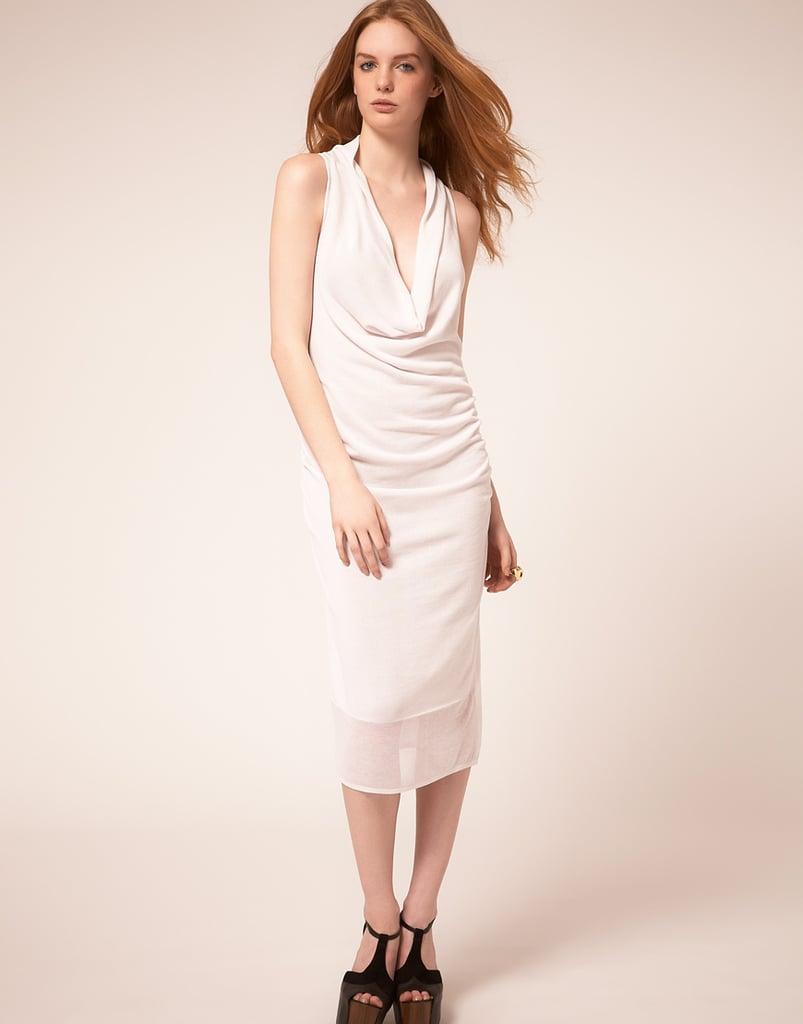 Dagmar Sleeveless Drape Dress ($314)