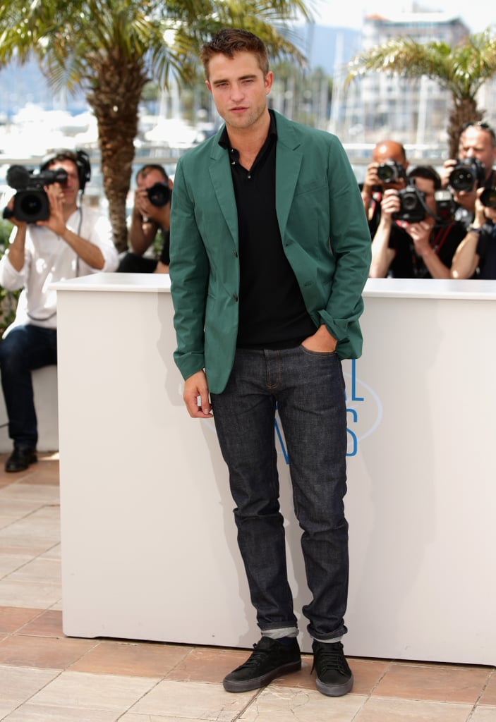 Robert Pattinson at a The Rover Photocall