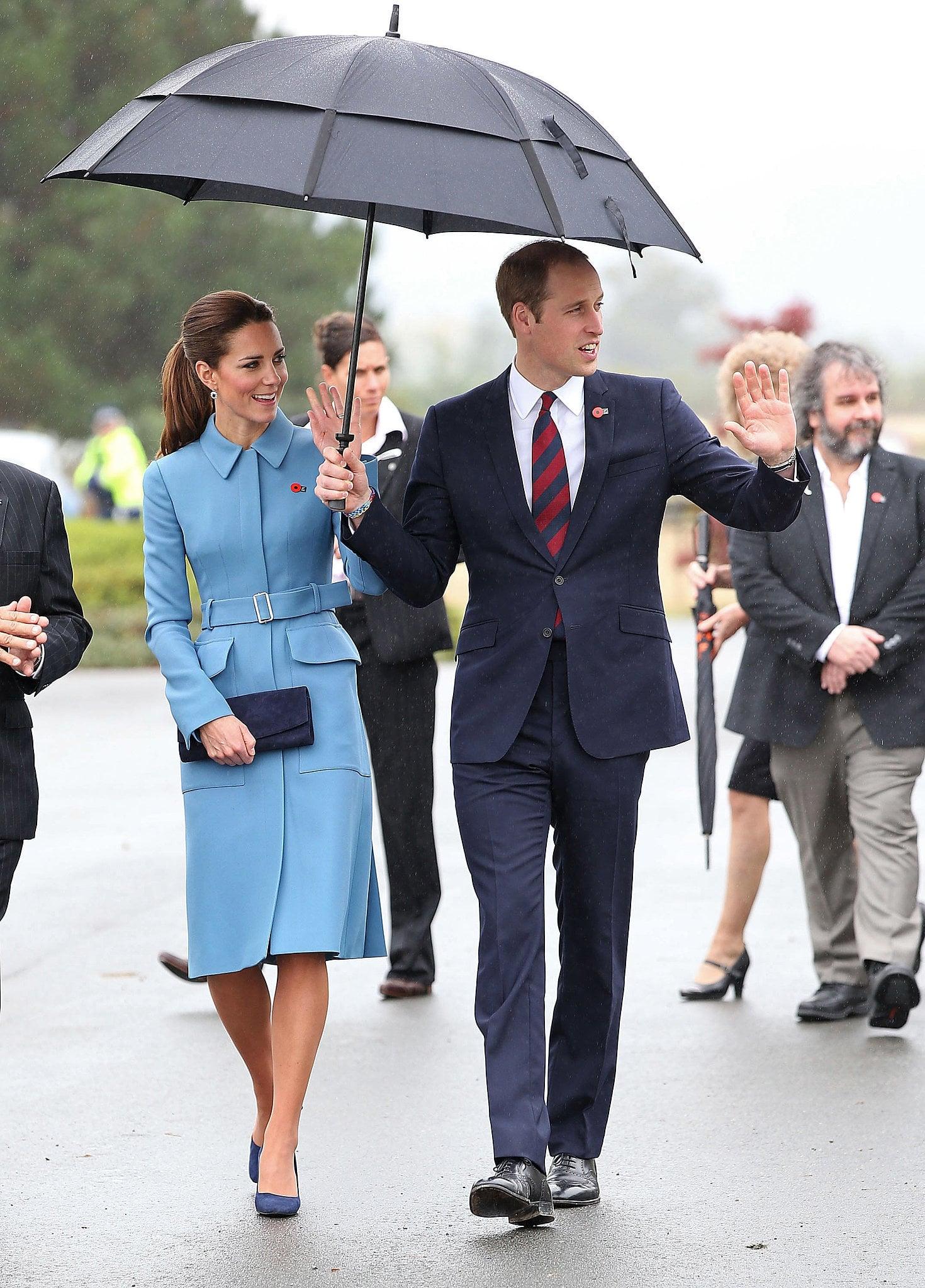 Kate Middleton at Blenheim's Aviation Heritage Centre in 2014