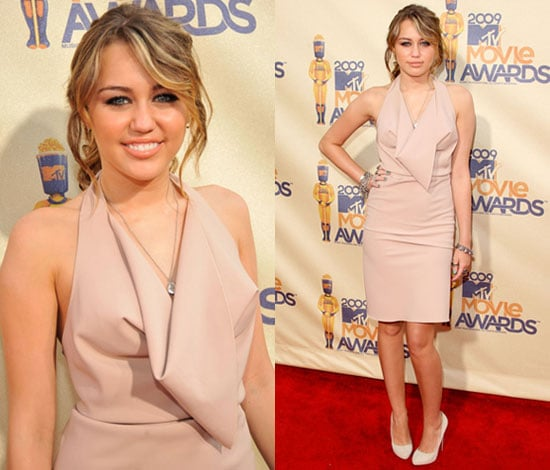 Miley Cyrus at the 2009 MTV Movie Awards