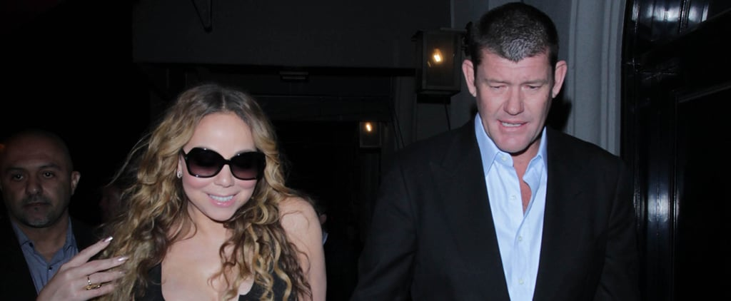 Mariah Carey Shows Serious Cleavage During a Romantic Night Out With Her Fiancé