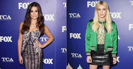 Lea Michele, Emma Roberts Play With Patterns on the Red Carpet