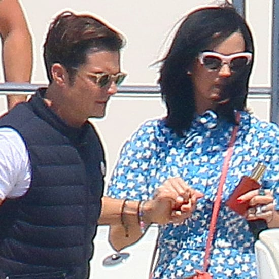 Katy Perry and Orlando Bloom in Cannes 2016