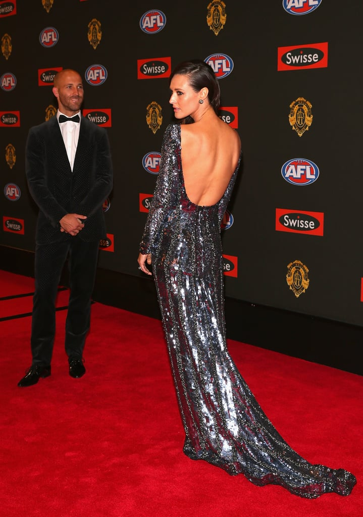 Clementine McVeigh the wife of Jarrad McVeigh of the Swans.