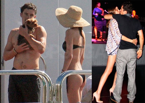 Photos of Orlando Bloom and Miranda Kerr in a Bikini