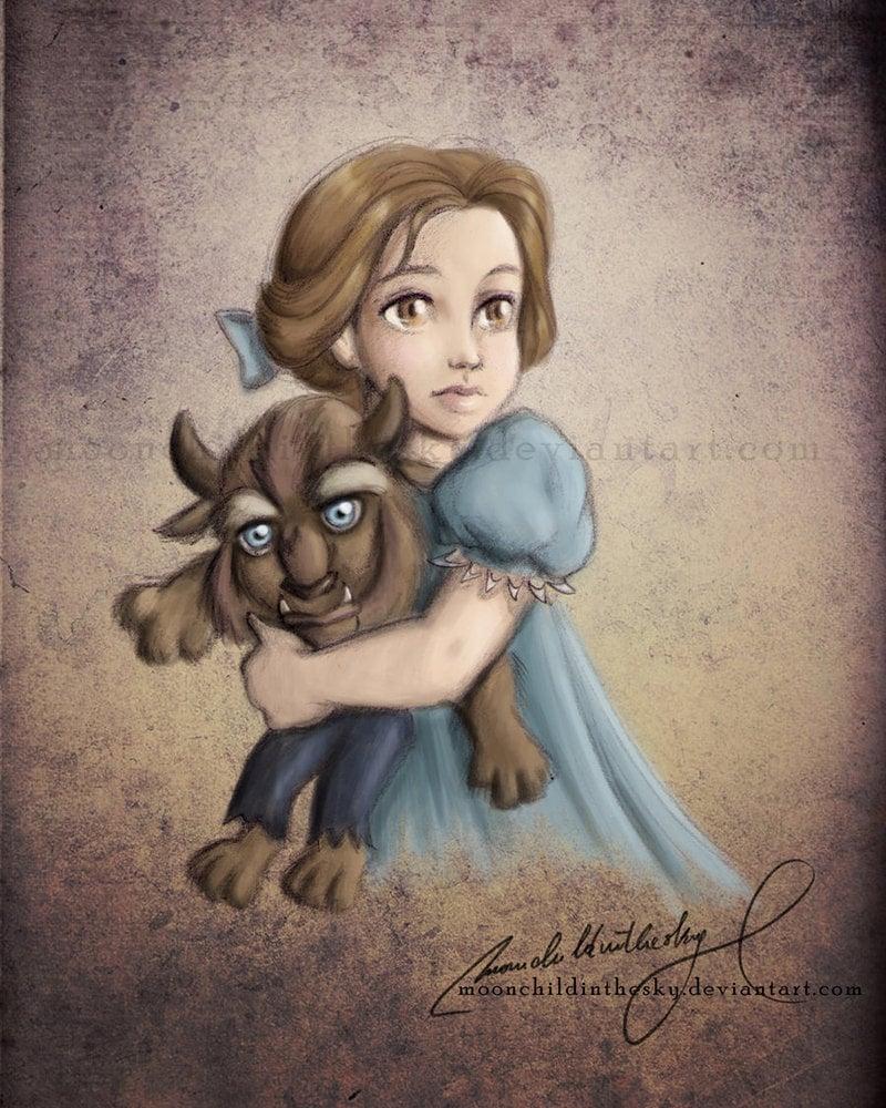Child Princess Belle