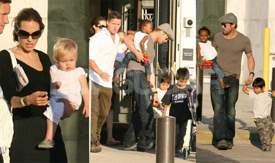 A Jolie-Pitt Day At The Museum (And Mad's New Do)!