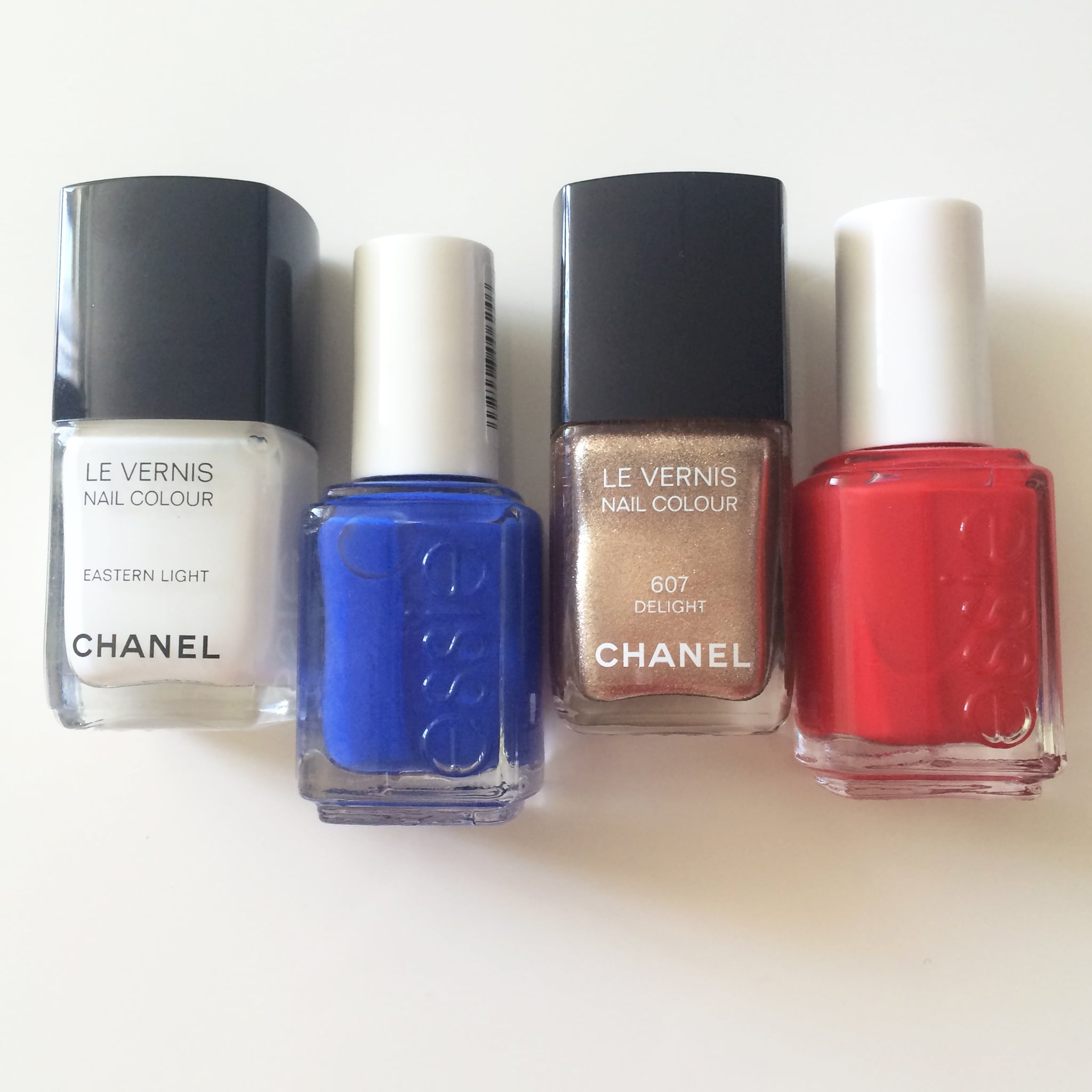 The Nautical Nail Polishes
