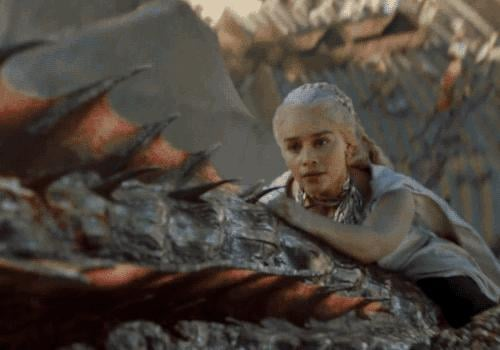 And Daenerys is OBVIOUSLY a badass herself.