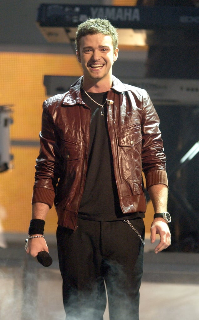 When he looked really, really good at the 2002 Billboard Music Awards.