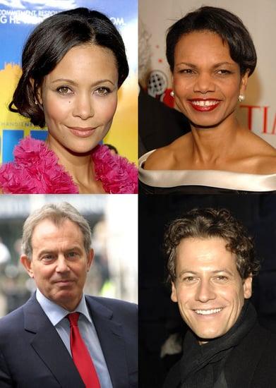 Thandie Is Condi and Gruffudd Is Blair in Stone's Bush Movie