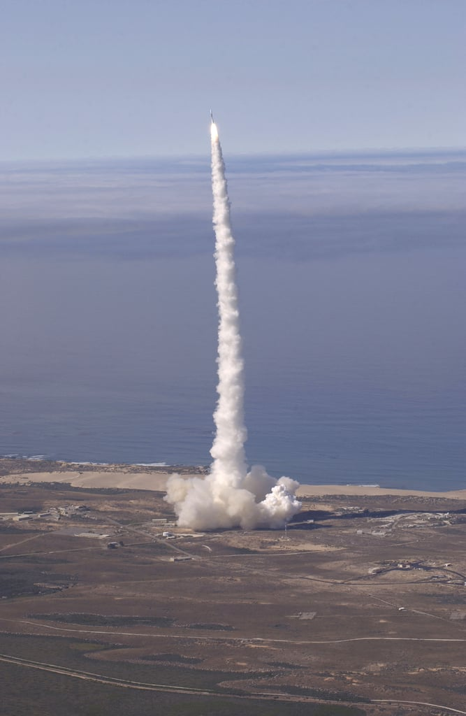 Delta II Lifts Off From California