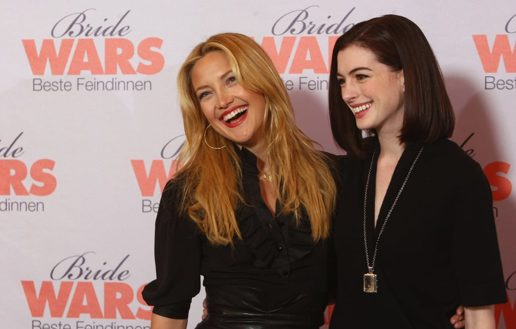 Kate Hudson and Anne Hathaway in Berlin
