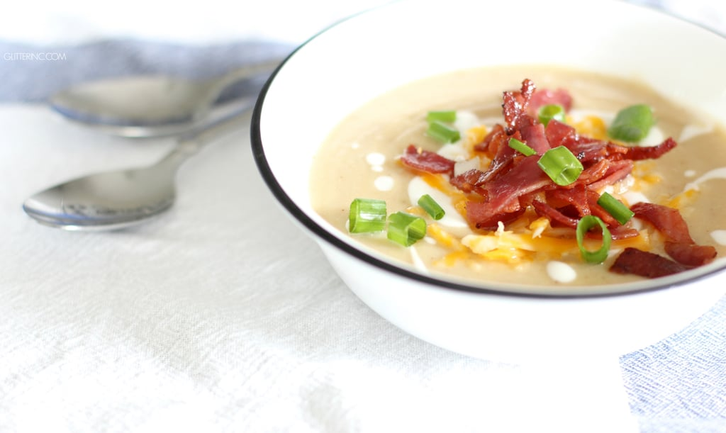 Loaded Cauliflower Soup