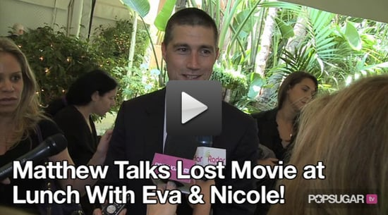Matthew Fox Talks Possible Lost Movie!