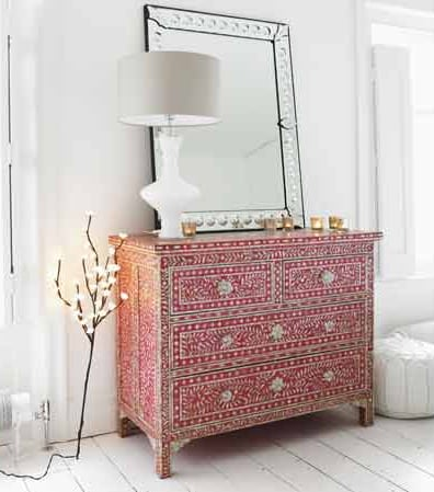 Crave Worthy: Pink Mother of Pearl Inlay Chest