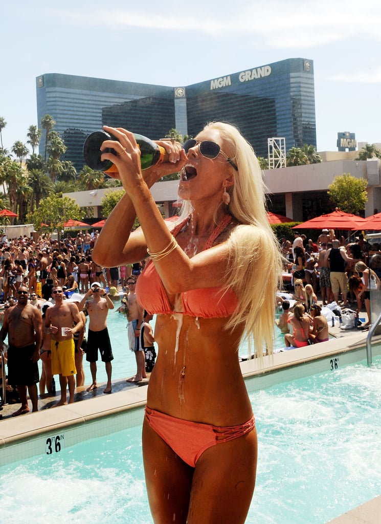 Heidi Montag Gets Back to Bikini Photo Shoots in Vegas