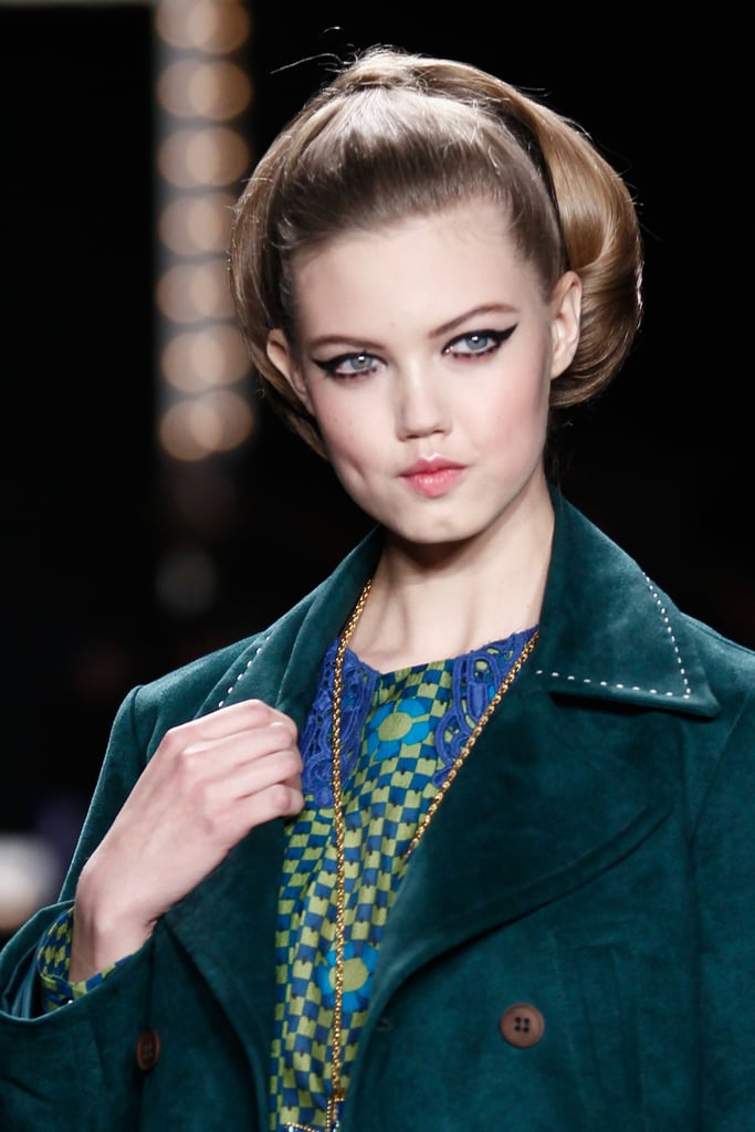 '60s Eyeliner: Anna Sui