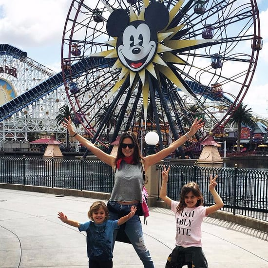 Alessandra Ambrosio and Family at Disneyland March 2016