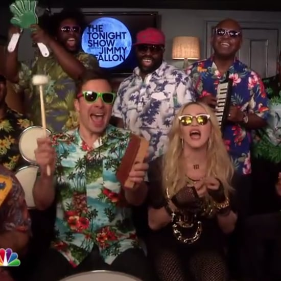 "Jimmy Fallon and Madonna Singing ""Holiday"""