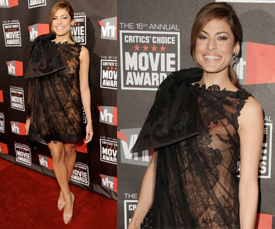 Eva Mendes at 2011 Critics' Choice Awards