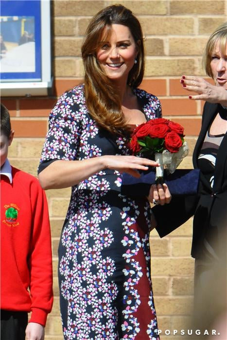 Kate Middleton visited The Willows Primary School.