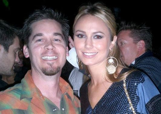 Celebrity Sighting: Super Bowl With Stacy Keibler