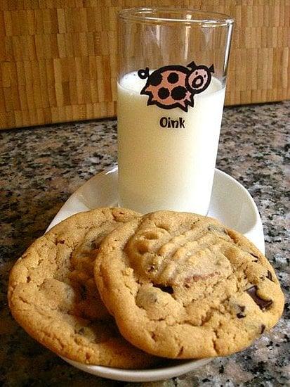 Stuffed Peanut Butter Chocolate Chop Cookies