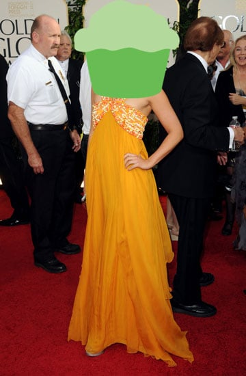 Celebrity Foodie at the 2011 Golden Globe Awards