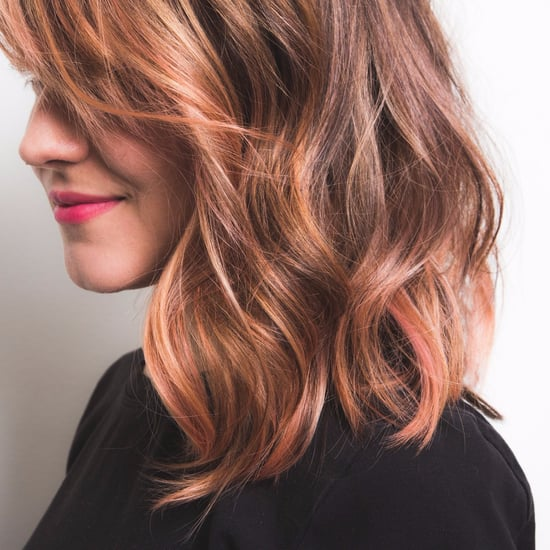Ombre Rose Gold Hair Color Inspiration