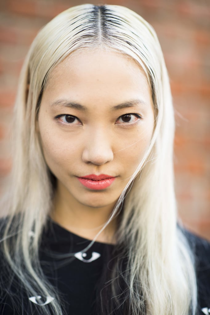 Peroxide blond hair with just a hint of roots just screams downtown cool. Source: Le 21ème | Adam Katz Sinding