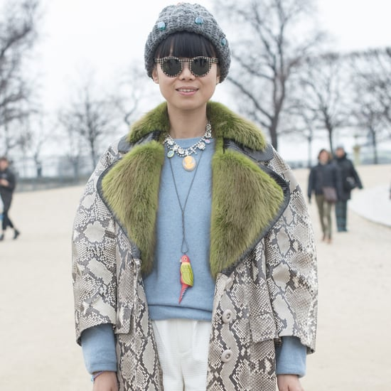 How to Wear Statement Necklaces and Sweaters