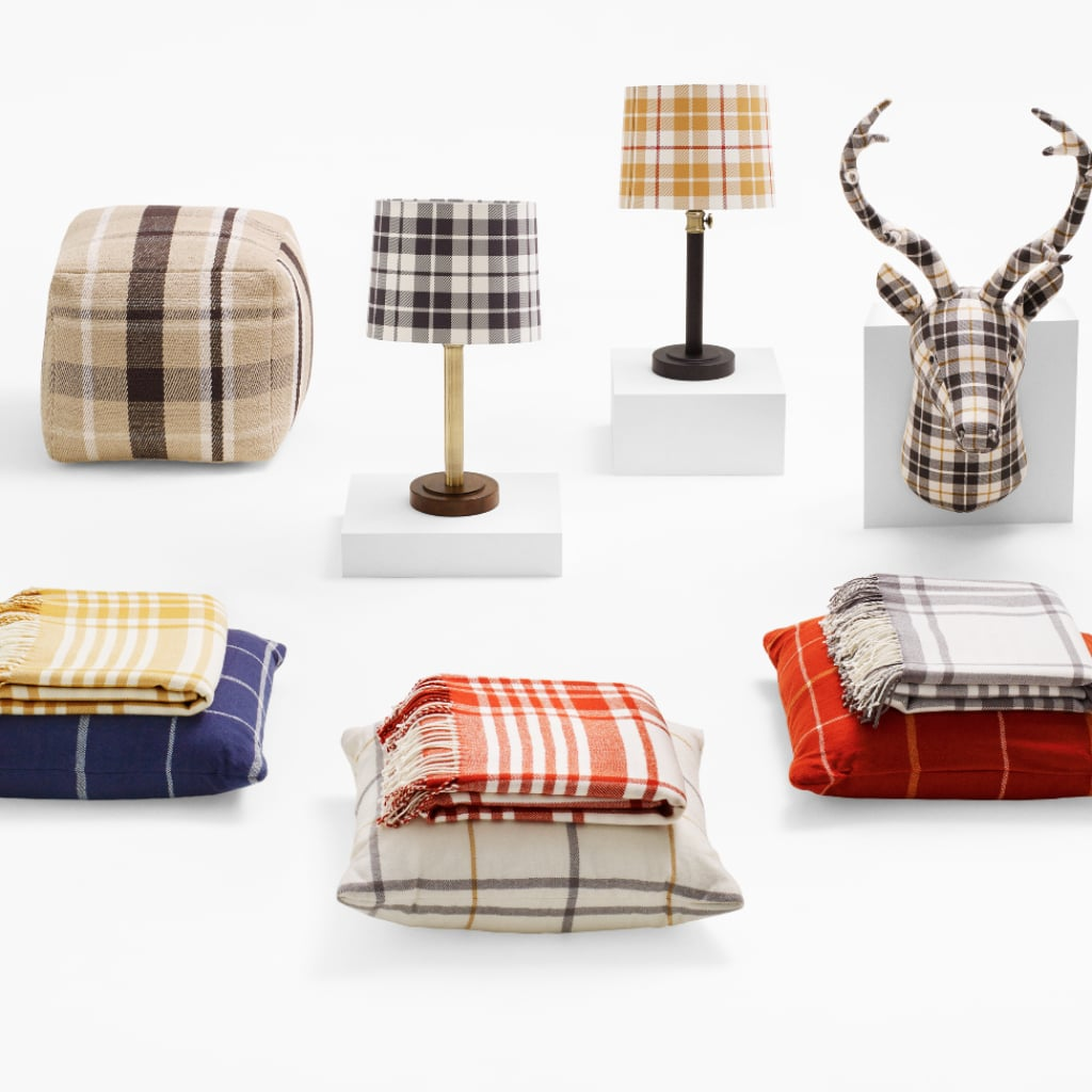 Plaid home decor from target fall 2015 popsugar home Target fall home decor