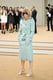 Does it get any more chic than Anna Wintour's pastel topper outside Burberry's Spring show?