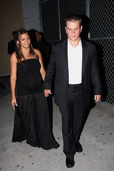 Matt and Luciana Keep It Sleek and Simple