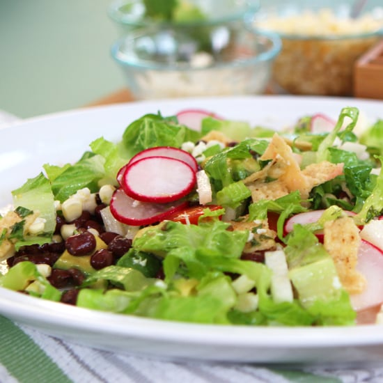 Vegetarian Taco Salad Recipe | Video