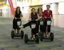 Segway Show-Off Faceplant