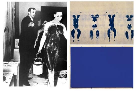 A Retrospective of Yves Klein Blue