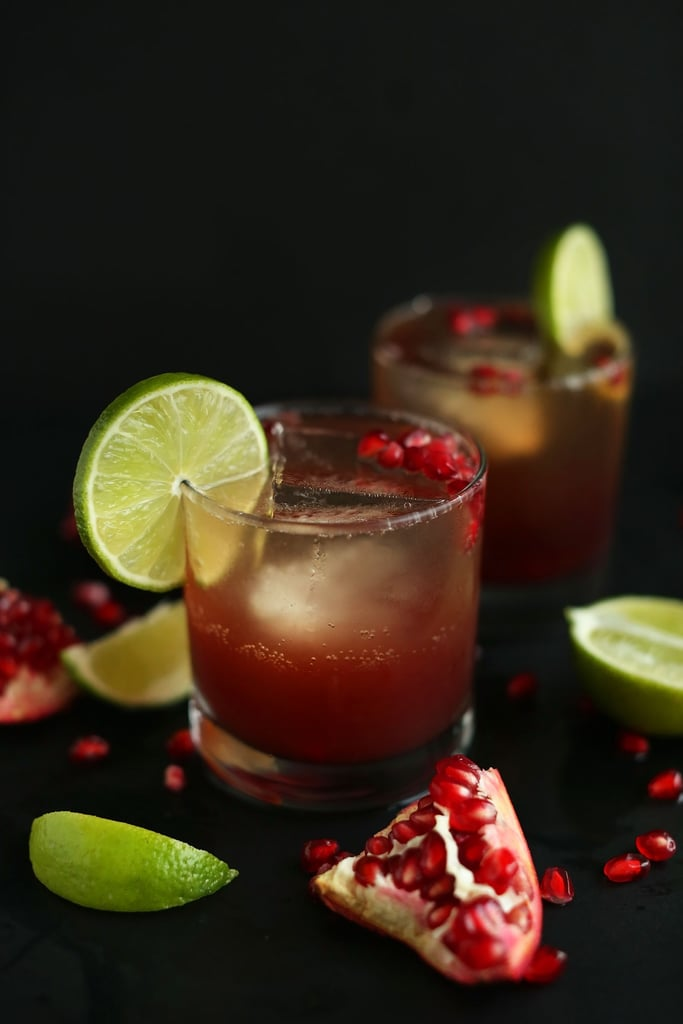 Pomegranate Sparkling Margaritas