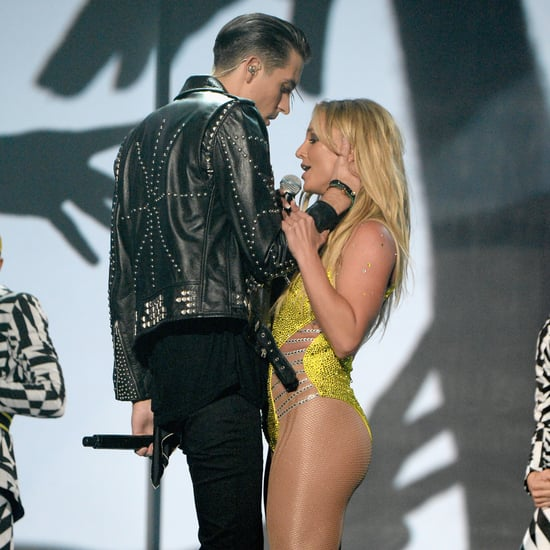 Britney Spears Rejects G-Eazy Kiss at MTV Video Music Awards